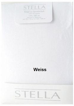"""Jersey - Fixleintuch für Boxspringbetten  """"Weiss"""""""