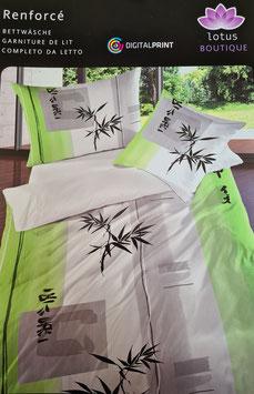 Baumwoll  Bettwäsche  XXL  Dessin Hilkaru  (EXTRA GROSS)  für King Size Betten