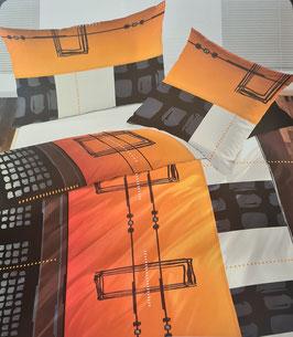 Satin Bettwäsche TOP MARKE LOTUS Swiss Design Nancy