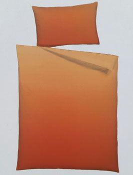 Mako-Satin Bettwäsche TOP MARKE IN HOUSE EDITION Design Uni Abricot