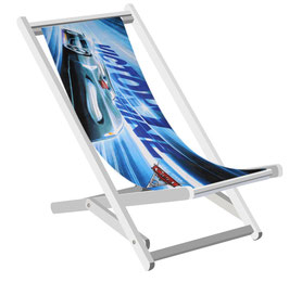 Strandtuch Life Cars Disney blau (ohne Stuhl)