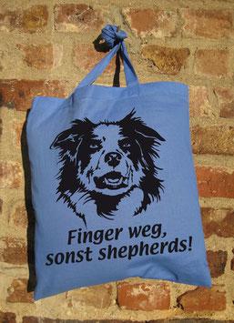finger weg, sonst shepherds!