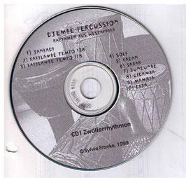 Groove- und Playalong CD, 12er Rhythmen