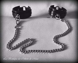 Attache bracelets menottes