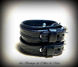 BRACELET DE FORCE CROCO