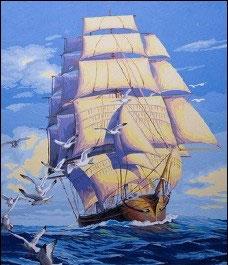 50×40-帆船