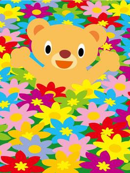 20×15-花畑くまさん