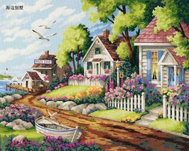 40×50-海辺の別荘