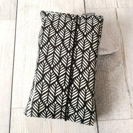 Windeletui Muster schwarz/weiss