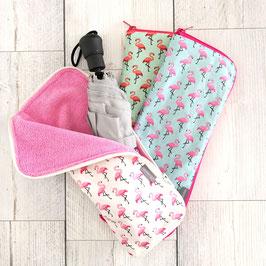 Regenschirmhülle Flamingo