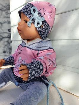"""Puppen Mütze passend zum Hoodie """"Magnolia"""""""