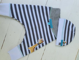 "Pumphose ""Stripes & Slate"""