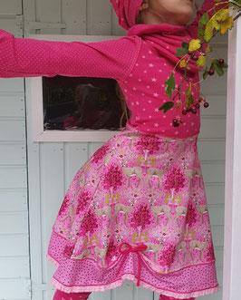 """Sweatshirt-Kleid """"Pink Deer"""""""