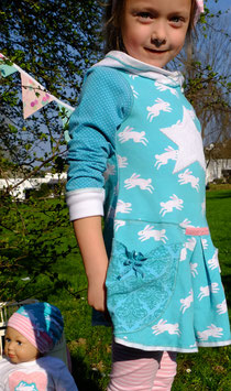 "Tunika-Kleid ""Rabbit Smaragd"""