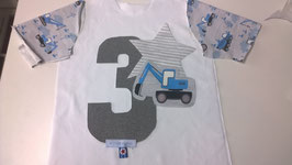 "Geburtstags-Shirt ""RoWork"" - handgefertigt"