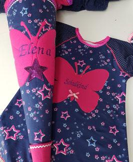 """Zucker- / Schultütenkombination """"Elena"""" mit passendem Kleid"""