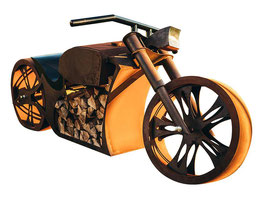 Ferrum Art Design Motorrad Grill