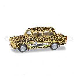 "Trabant 601 ""TrabiWorld.com"" Giraffe 27663 Herpa 1:87"