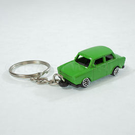 Schlüsselanhänger Trabant grün