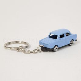 Schlüsselanhänger Trabant hellblau