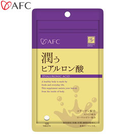 AFC(エーエフシー) ハートフルシリーズ 潤うヒアルロン酸 30日分(120粒)×6袋