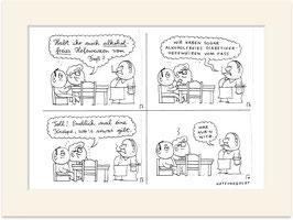 """Originalzeichnung """"Alkoholfreies Hefeweizen"""""""
