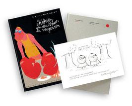 Buch + Originalzeichnung