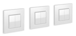 Package of 3 Friends of Hue switches