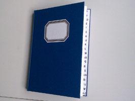 Verzeichnis der Austritte und Rekonziliationen, mit Register