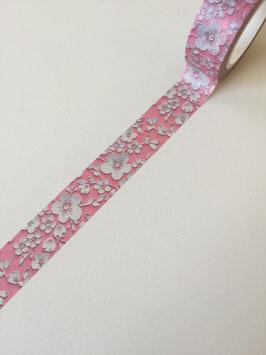 Washi Tape Blumen rosa