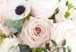 Transparentpapier Peach Roses