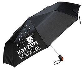 Regenschirm Katzenwäsche
