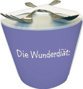 "Snack to go Becher ""Wunderdiät"""
