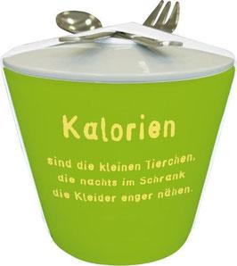 """Snack to go Becher """"Kalorien"""""""