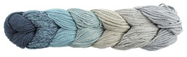 Woolly Hugs Rope Plait Taschenwolle Farbe 184 Türkis