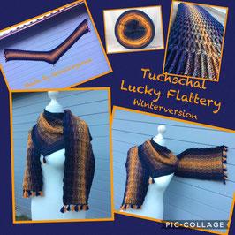 Tuchschal Lucky Flattery Häkelpaket