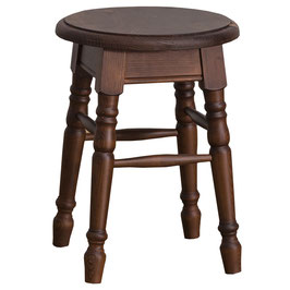 Tabouret rond- assise pin ou chêne - tradition