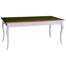 Table  - L 210 cm  - plateau pin ou chêne- Frenchie