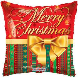 "Merry Christmas Folien Ballon 18"""