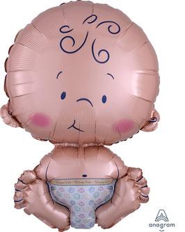 "Folien Ballon 16"" x 24"" Welcome Baby"