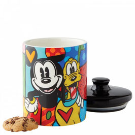 Mickey Mouse and Pluto Cookie Jar Small 6004977