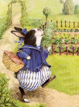 Кролик с корзинкой (М-20)