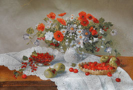 Цветы и ягоды (Б-13)