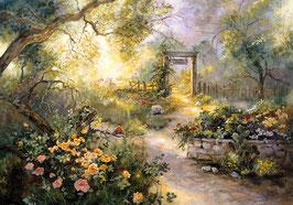 Осенний сад (П-93)