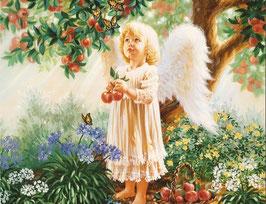 Ангел в яблоневом саду (Д-15)