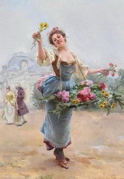 Танцующая с цветами(Л-25 )