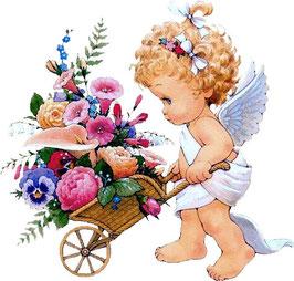 Ангел с цветами  (АП-9)