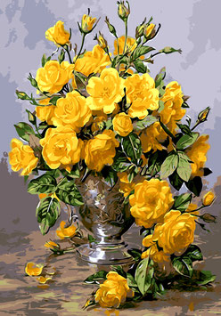 Желтые розы (ЦР-9)