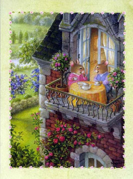 Чаепитие на  балконе (М-22)