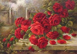 Розы у калитки (ЦР-6)